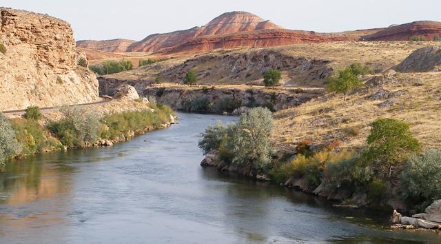 bighorn river fishing in wyoming guided fishing bighorn river